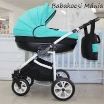 Berry Baby Lux 3in1 Pram Set (with adapter and carrier): Z-14