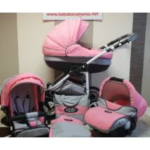 Berry Baby Lux 3in1 Pram Set (with carrier and adapter): Z-17