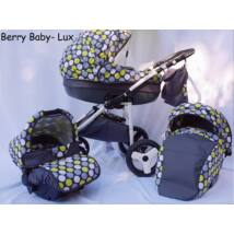 Berry Baby Lux 3in1 Pram Set ( with adapter and carrier): Z-23