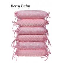 PUFFY Bumper Set (6 pieces): Rose MInky+Rose
