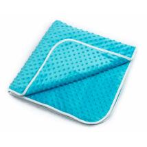 MInky Baby Blankets 90x168 cm: Turquoise