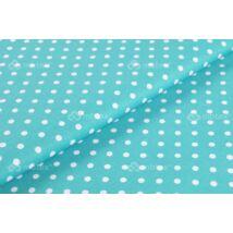 Crib Rail Cover: Turquoise Dots