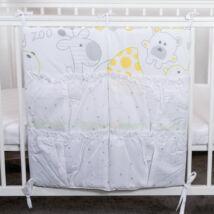 4 Pockets Diaper Storage: Green Zoo