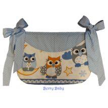 SMILE Diaper Storage: Blue Owl