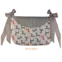 SMILE Diaper Storage: Deers+ Small Gray Dots