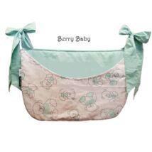SMILE Diaper Storage: Mint Bear