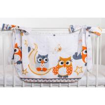 SMILE Diaper Storage: Orange Owl