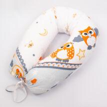 CLASSIC Nursing Pillow: Gray Owls