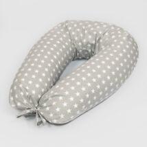 CLASSIC Nursing Pillow: Gray Stars