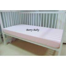 BASIC Cotton Sheet 60x120 cm: Baby Rose