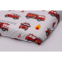 EXCLUSIVE Sheet for 60x120 cm Baby Bed: Firefighter Car