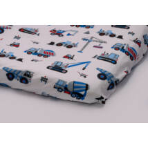 EXCLUSIVE Sheet for 60x120 cm Baby Bed: Trucks