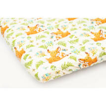 EXCLUSIVE Sheet for 60x120 cm Baby Bed: Lovely Deer