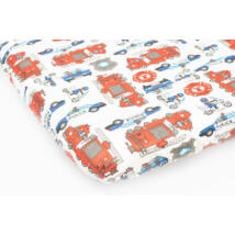 EXCLUSIVE Sheet for 60x120 cm Baby Bed: Police