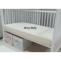 FLANNEL Sheet for 60x120 cm Baby Bed: Cream
