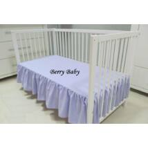 FRILLY Sheet for 60x120 cm Baby Bed: Lilac