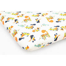 Jersey Sheet for 70x140 cm Baby Bed: Dino