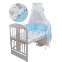 MINKY Bedding Set: BLUE MINKY BEAR