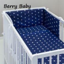 STARS and DOTS Bedding Set: Blue- White Stars
