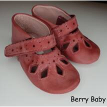 Baby Leather Shoes: Rose Lacy  Size 17