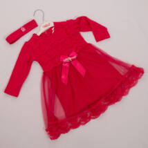 Little girl dress for events: for 1 year old babies- PINK
