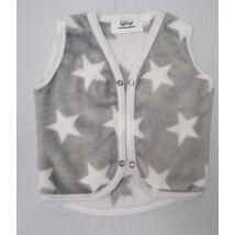 Berry Baby wellsoft vest - Gray- White Stars 0-6 months
