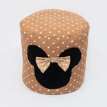 Bean Bag Pouffe: Coffee Dots Minnie Fantasy