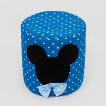 Bean Bag Pouffe: Royal Blue Dots Mickey Fantasy