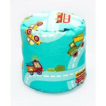 Bean Bag Pouffe: Turquoise Car