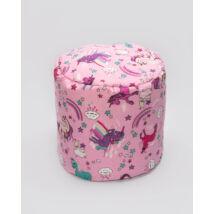 Bean Bag Pouffe: Unicorn