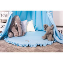 FRILLY Playing Mat: Baby Blue