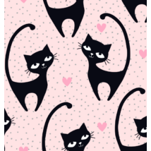 INFINITE Playing Mat: Black Cat (You got to choose the size!!!)
