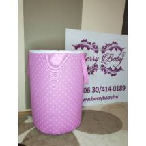 Laundry Basket- Toy Storage: True Rose Dots