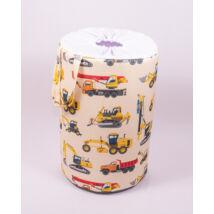 Laundry Basket- Toy Storage: Trucks