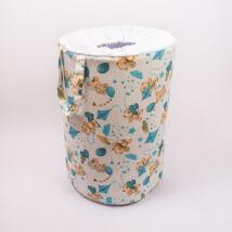 Laundry Basket- Toy Storage: Blue Bear