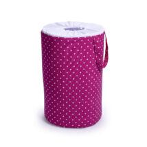 Laundry Basket- Toy Storage: Pink Dots