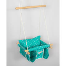 Jumper Swing: Turqouise Dots