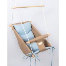 Wonder Swing: Beige- Blue