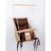 Wonder Swing: Beige- Chocolate