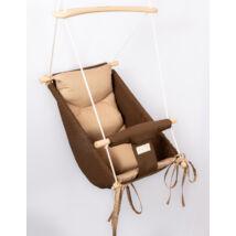 Wonder Swing: Chocolate- Beige