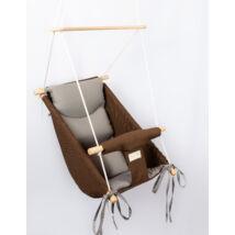 Wonder Swing: Chocolate- Gray
