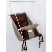 Wonder Swing: Gray- Chocolate