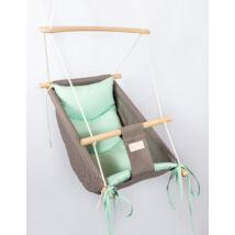 Wonder Swing: Gray- Mint