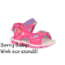 Wink eco- baby and child sandals-PINK : Size:20