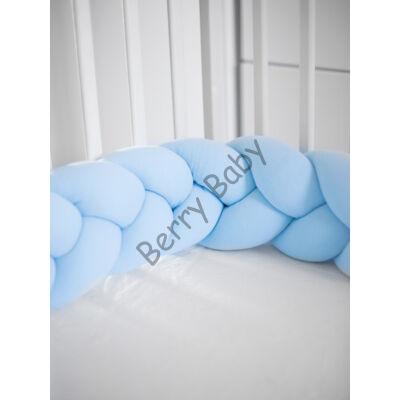 """""""U"""" BRAIDED BUMPERS (210 CM): Baby Blue"""