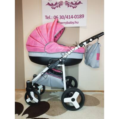 Berry Baby Lux 3in1 Pram Set (with adapter and carrier): Z-11
