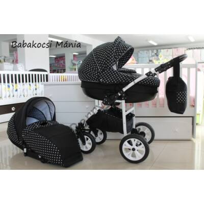 Berry Baby Lux 3in1 Pram Set (with adapter and carrier): Z-22