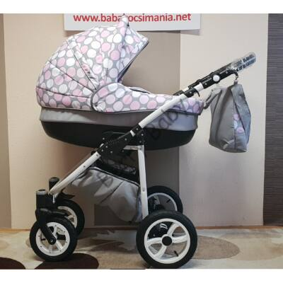 Berry Baby Lux 3in1 Pram Set (with adapter and carrier): Z-24
