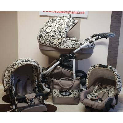 Berry Baby Lux 3in1 Pram Set (with adapter and carrier) : Z-25