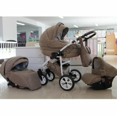 Berry Baby Lux 3in1 Pram Set (with carrier and adapter ): Z-5